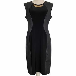 Joseph Ribkoff Black sleeveless dress size 12